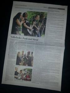 Everdyne in Zeitung
